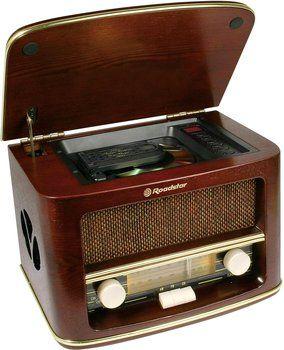 Radio vintage Roadstar HRA-1500CD od 349,00 zł. WIĘCEJ: http://www.idealo.pl/ceny/816779/roadstar-hra-1500cd.html