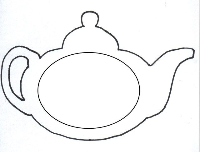 Best Photo Of Teapot Coloring Page Mothers Day Card Template