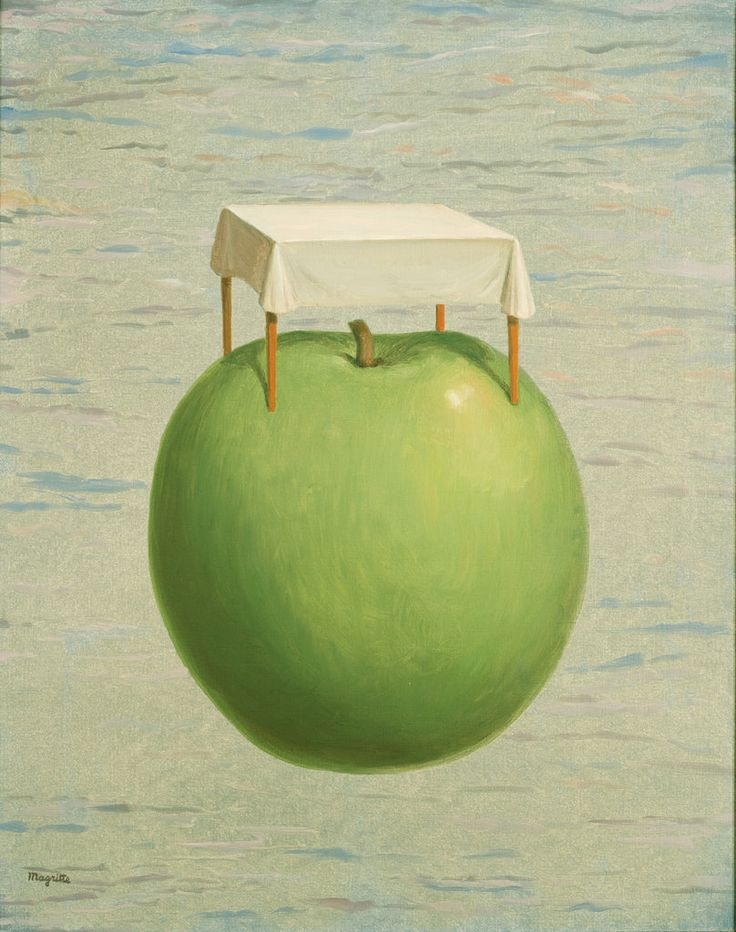 """Beautiful Realities"""" by René Magritte, 1962"""