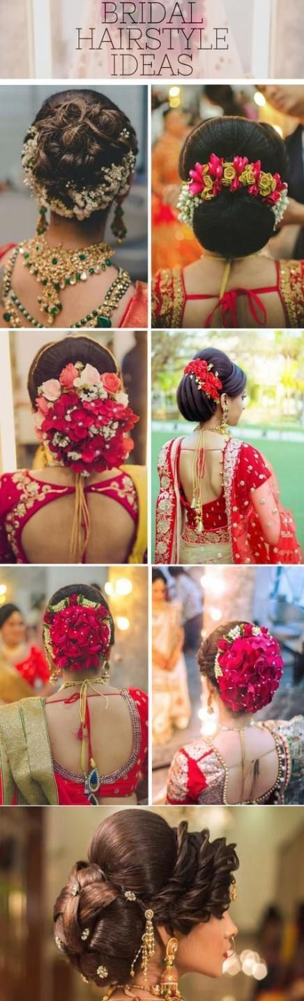 Bridal Hairstyles Indian India 41 Ideas For 2019  #bridal #hairstyles #ideas #i