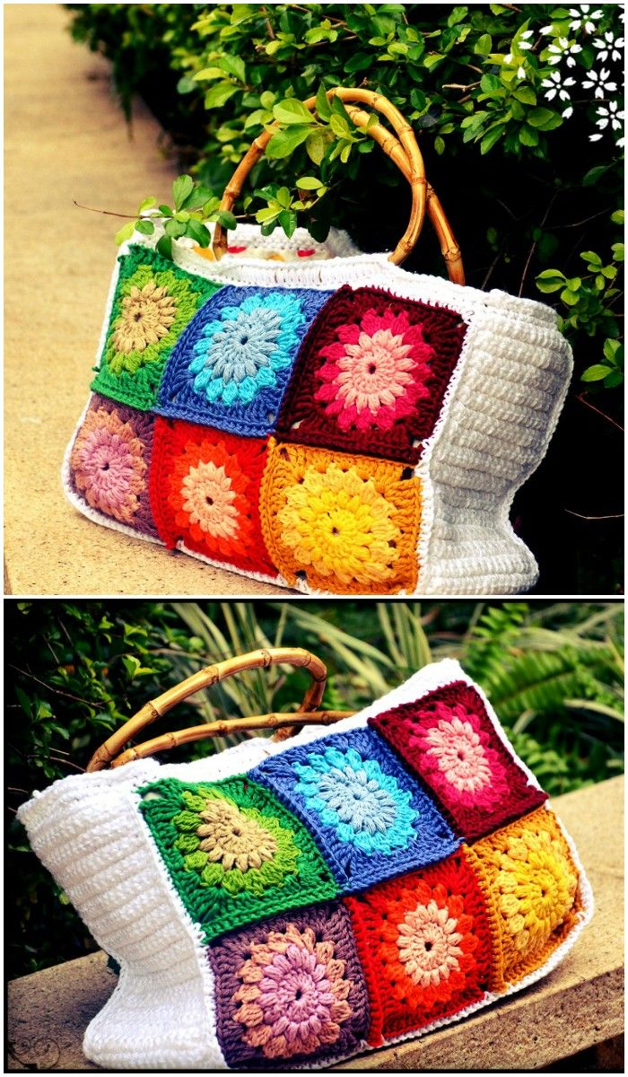 You are just to get some great inspirations here! Check out here these Free Crochet Bag Patterns or Crochet Tote Bags that are  beautiful and cute!