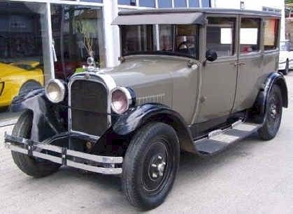1926 Dodge Sedan Dodge Brothers Detroit, MI 1914-1928, Chrysler Corp to Date