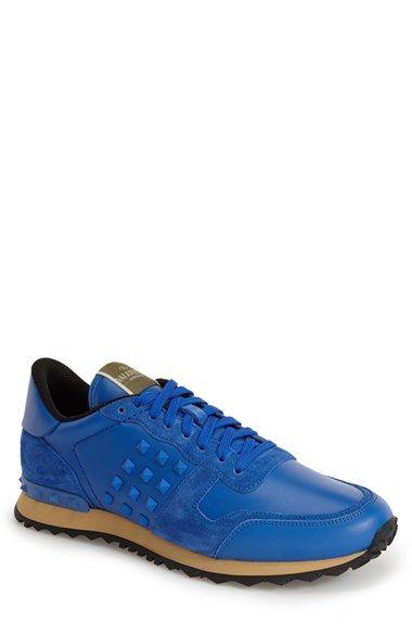 Valentino 'Rockstud' Sneaker (Men)