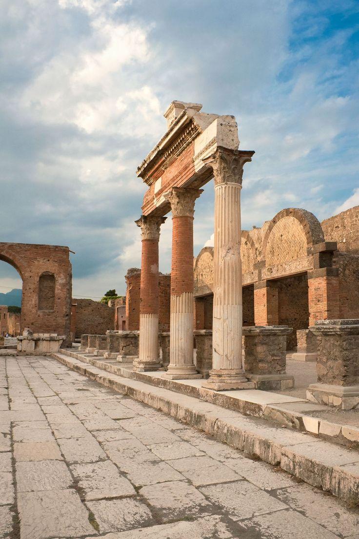 The Ancient City of Pompeii, Campania,Italy