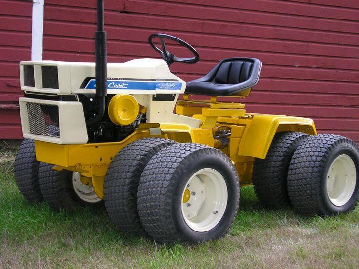 4x4 Cub Cadet Garden Tractors : Xtrememotorworks cub cadet its painted and done
