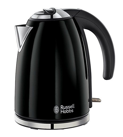 Russell Hobbs Colour Kettle 18946, 1.7 L, 3000 W - Black