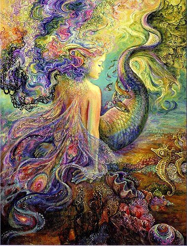 Josephine Wall Mermaid | Thank you for your assistance in making the completion of this auction ...
