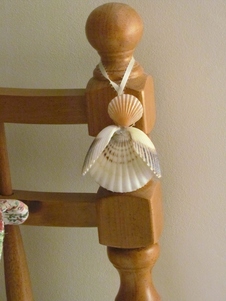 Gaurdian Angel Cape Cod Shell Angel by apresto on Etsy, $20.00