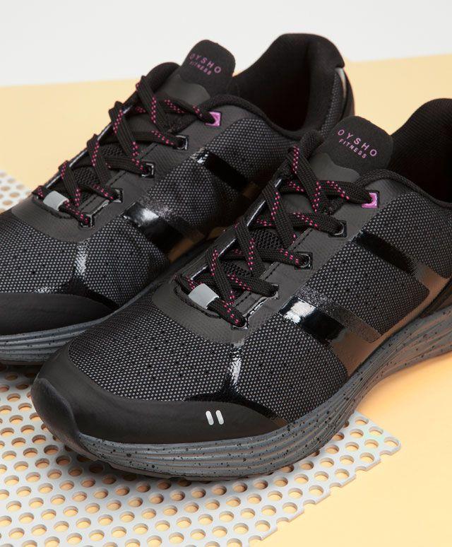 Reflective sneakers - OYSHO