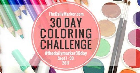 So excited to be doing the 30 day coloring challenge #thezadisproject