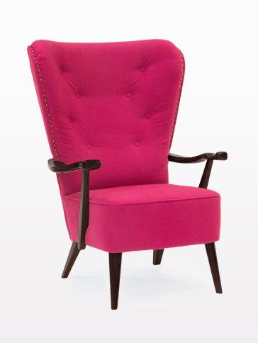 Fotel William Pink #komeb # meble #fotel #armchair #chair #wnętrze #pokój dzienny #livingroom #aranżacja #urządzanie #inspiracje #projektowanie #projekt #pomysł #design #room #home #meble #pokój #pokoj #dom #mieszkanie #jasne #oryginalne #kreatywne #nowoczesne #proste #wypoczynek #HomeDecor #fruniture #design #interior #naturalne