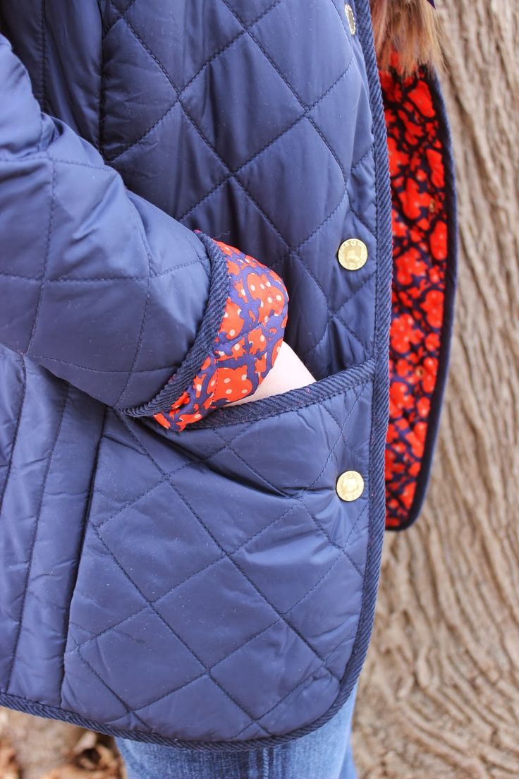 Love the C. Wonder pattern inside the coat!