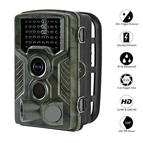 Oferta: 117.99€ Dto: -26%. Comprar Ofertas de Camara de Caza, Aidodo Camara Nocturna Caza Impermeable con Visión Camara Caza 12MP 1080P HD Impermeable Infrarrojo Sensor de barato. ¡Mira las ofertas!