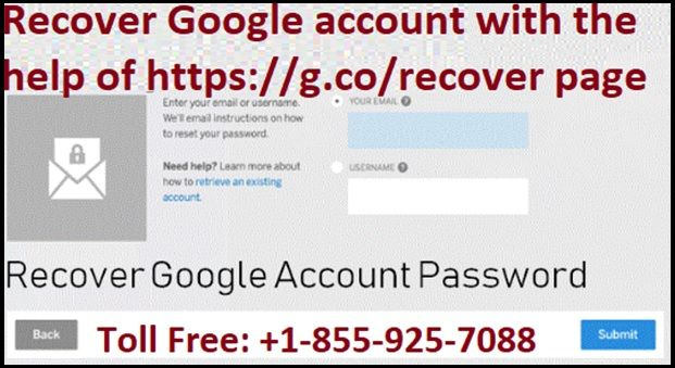 Recover Google Account With The Help Of Https G Co Recover Page In 2020 Account Recovery Accounting Google Account