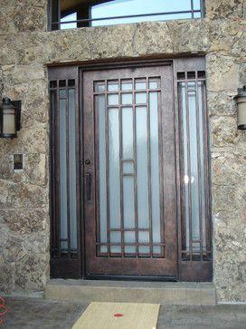 Custom Iron Doors - Multiple Projects contemporary-front-doors