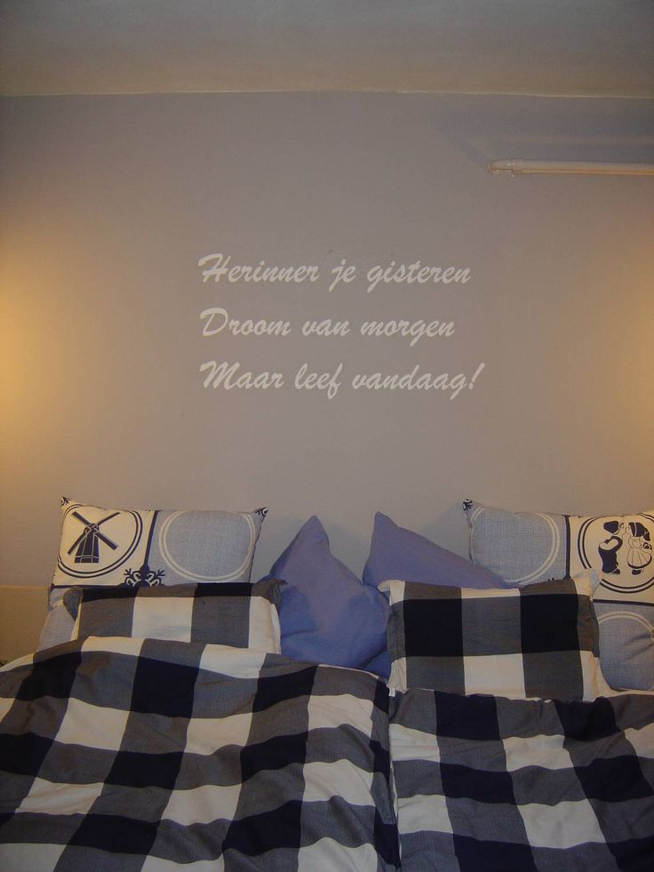 Slaapkamer gedicht Dromen