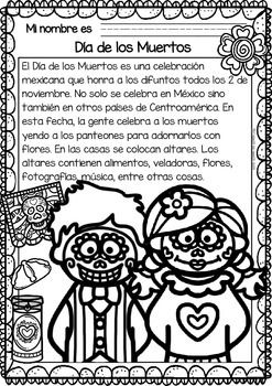 Non-Fiction-Texts-in-Spanish-HalloweenDay-of-All-SaintsDay-of-the-Dead-2165879 Teaching Resources - TeachersPayTeachers.com