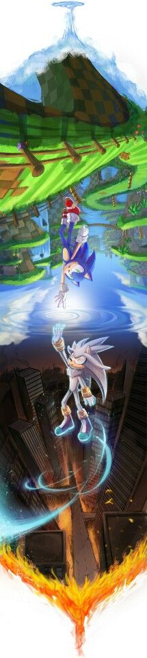 This is the best Sonic fan art I've ever seen!