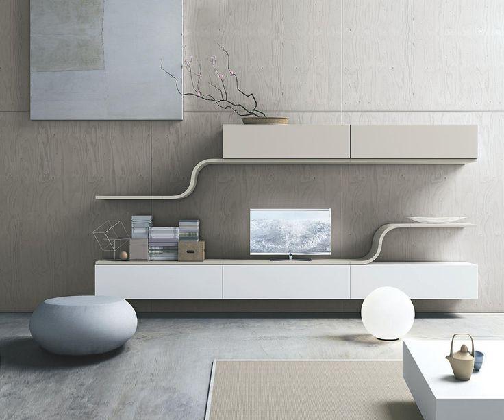 Design Wohnwand Straight ~ Pinterest • The world's catalog of ideas