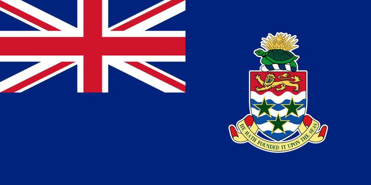 Flag of the Cayman Islands - Bandeiras da América do Norte – Wikipédia, a enciclopédia livre