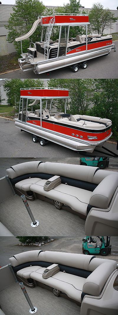boats: 2016 -Funship-New Triple Tube 27 Ft Cascade Platinum Pontoon Boat With Slide- -> BUY IT NOW ONLY: $39999 on eBay!