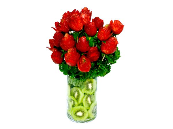 Strawberry Roses bouquet!