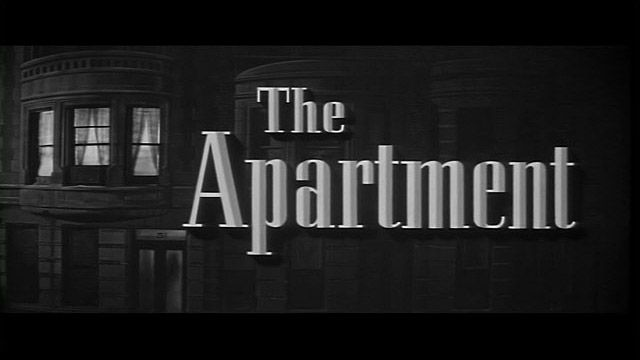 The Apartment: Movies Title, Title Cards, Apartamento 1960, Billy Wilderness, Film Title, Apartment, Open Title, Title Screens, Apartment 1960