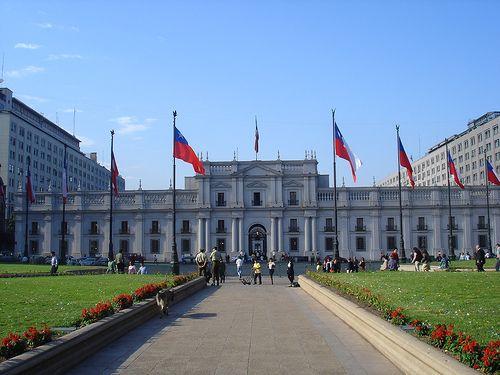 Chile. palacio la moneda