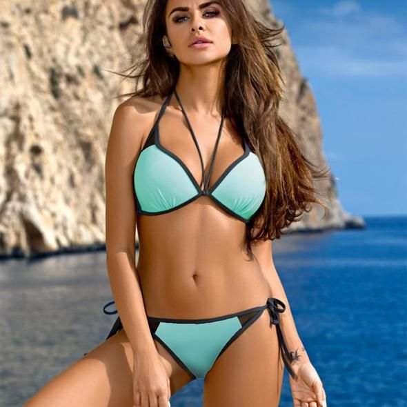 Halter Bandage Bikini perfect for the summer or your next vacation!