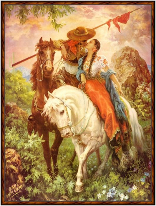 17 Best images about Jesus Helguera - Iconic Mexican Art ...