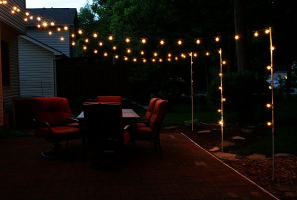 Garden Lighting Ideas For Party Outdoor Lighting Ideas On Pinterest Landscape Projects Easy Landscaping Garden Landscaping