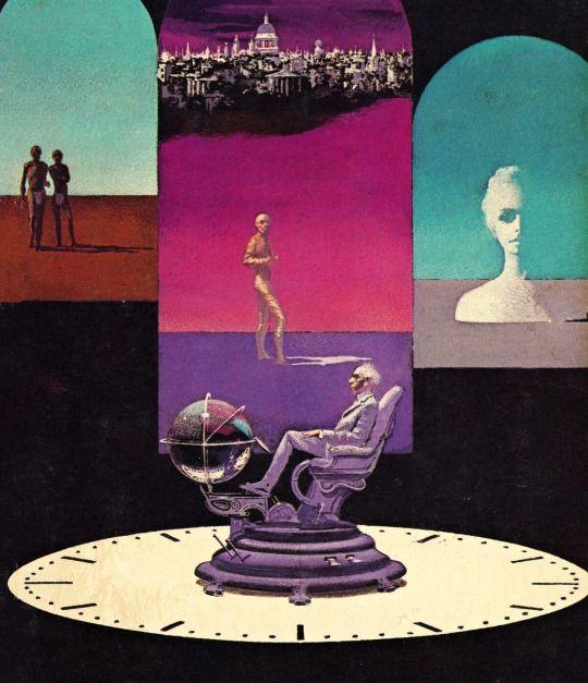 Karel Thole - The Return of the Time Machine, 1972.