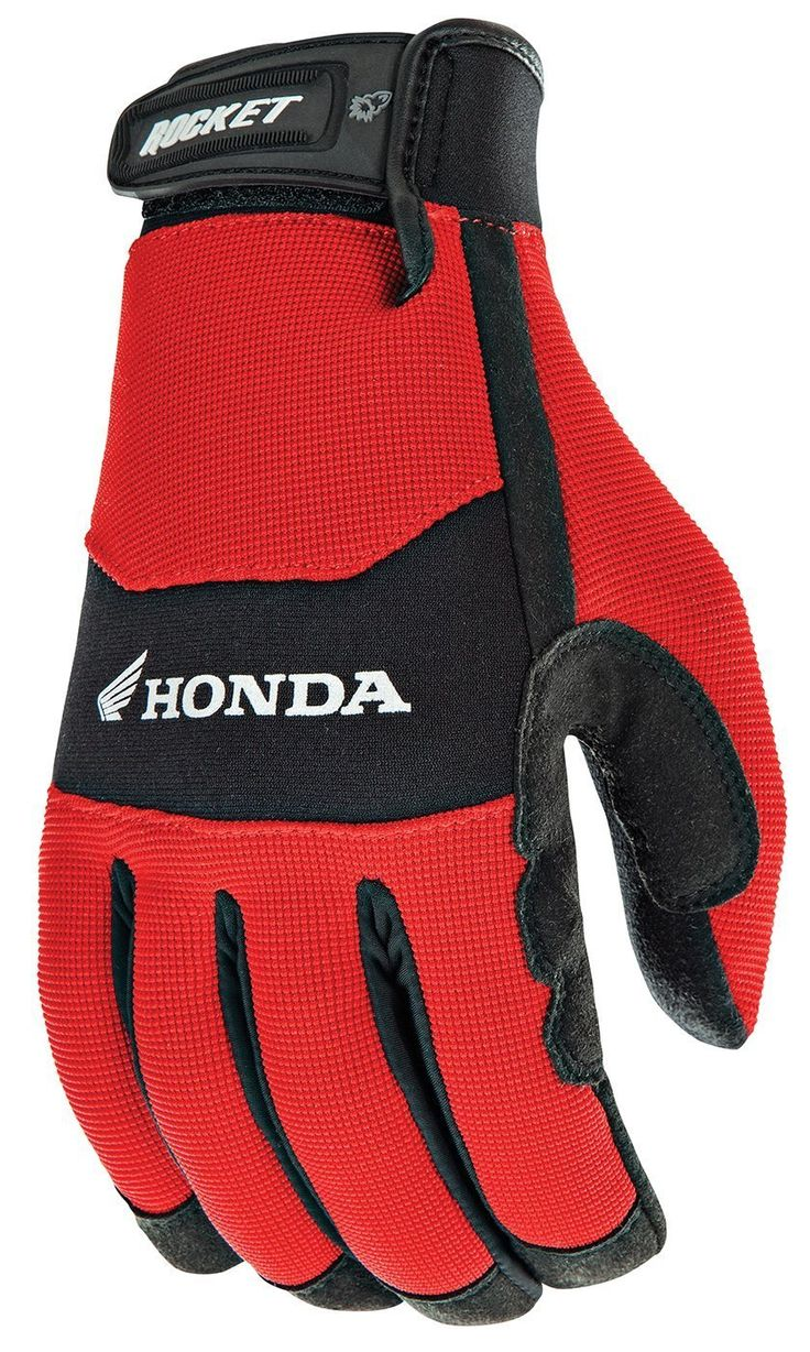 Joe Rocket Crew Touch Men's Motorcycle Riding Gloves Red/Black