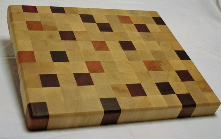 De nieuwste creatie: pixel plank