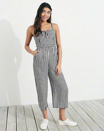 0a3e011d9bab Tie-Front Culotte Jumpsuit | Wish for inspo