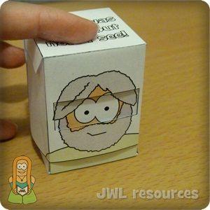 Com esta pequena caixa de pop-up, um momento Bartimeu é cego e no próximo ele pode ver! Este é um daqueles ofícios realmente simples e a...