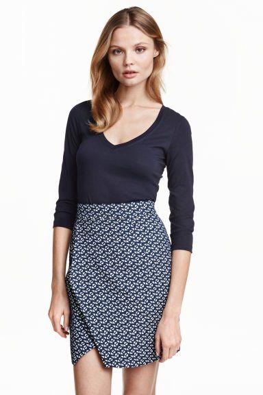 裹身式半身裙 | H&M