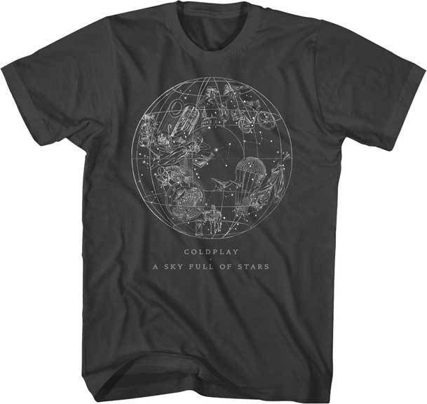 COLDPLAY Sky Full Of Stars T-Shirt Brand New Authentic Rock Tee S M L XL XXL | Clothing, Shoes & Accessories, Men's Clothing, T-Shirts | eBay!
