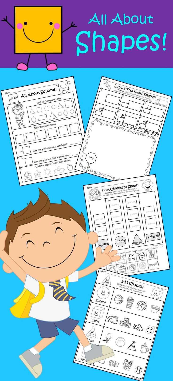 17 best Preschool - Shapes images on Pinterest | Preschool shapes ...