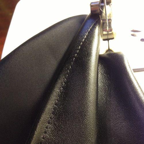 el truco para máquina de coser cuero
