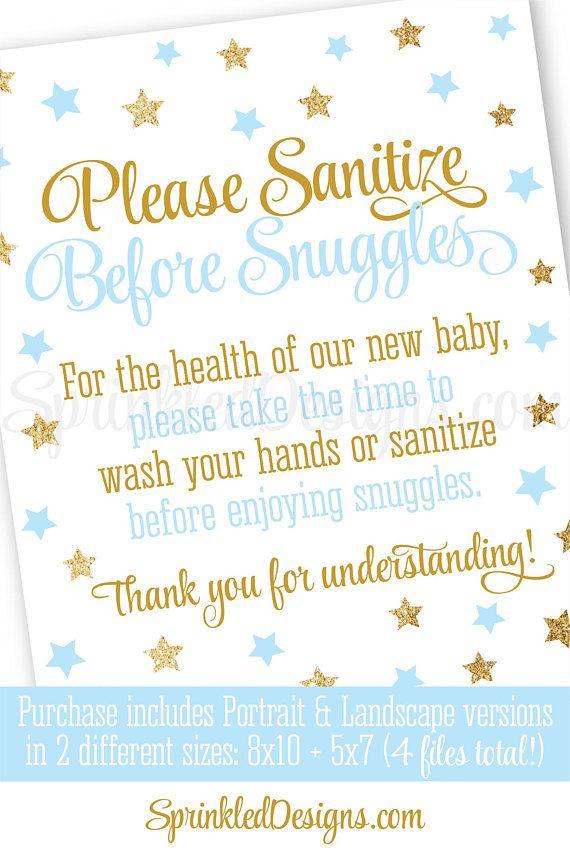 Hand Sanitizer Baby Shower Favors The Best Baby Shower Favor