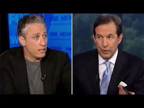 Jon Stewart Rips Chris Wallace, Fox News For Being Propaganda Machine  #foxnews #fox #fauxnews