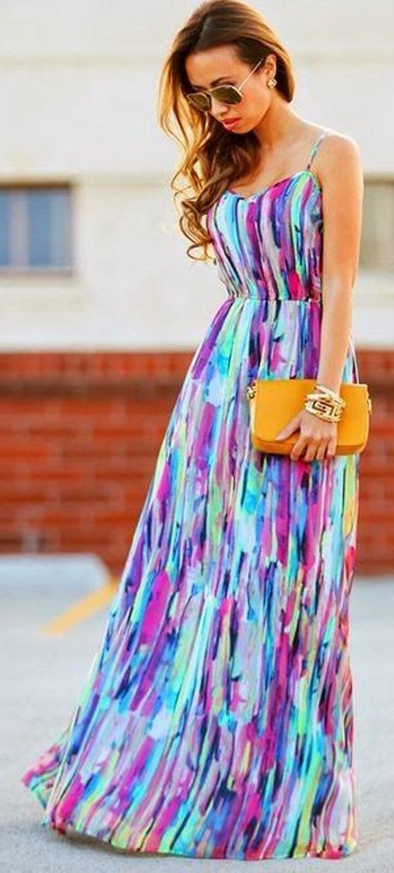 Maxi dress ideas zone