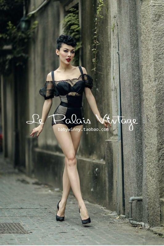 Le Palais Vintage Wear - dreamgirl lingerie, under where intimates, valentines lingerie *ad
