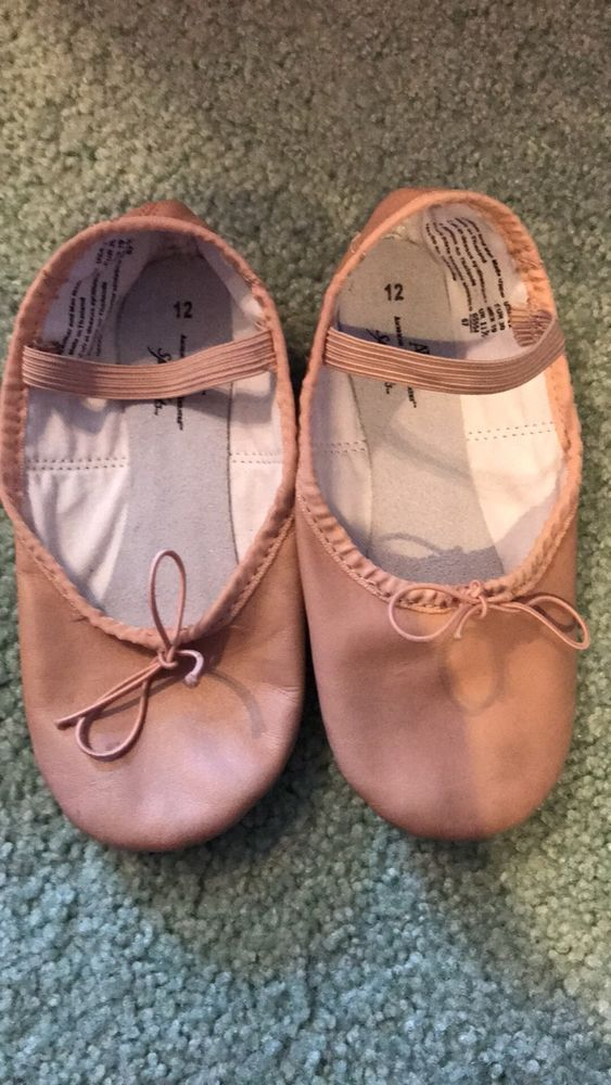 ABT SPOTLIGHTS - BALLET SLIPPERS SHOES KID SIZE 12 -  AMERICAN BALLET THEATER  | eBay