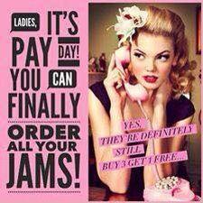 Payday  jazzyjams.jamberry.com/uk