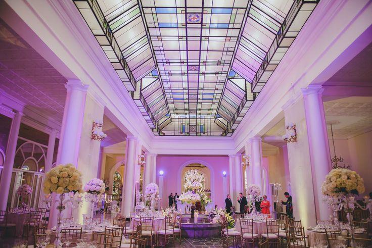 Decoración de Bodas. Salón Morado. Conoce las mejores fotografías para tu boda en Colombia: www.fotosybodas.com.co