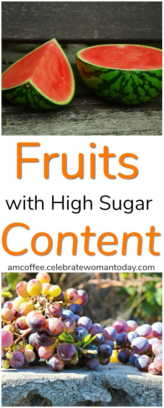 Take a look at fruits high in sugar. Know the facts and use them in your daily food planning. #AMCoffee #HeartThis