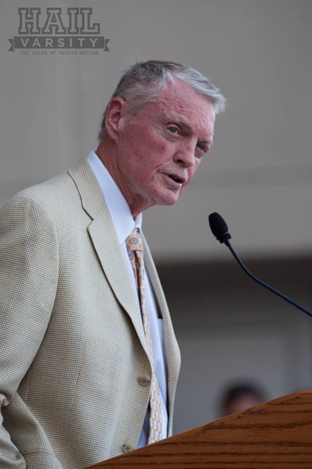 Dr. Tom Osborne at The University of Nebraska Lincoln on 8/30/13.  The unveiling of the Coach Bob Devaney statue on campus.