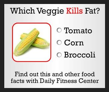 Which veggie KILLS fat?